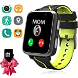 Kids MP3 Players Music Watch - Smart Watch with MP3 Music Player [1GB Micro SD Included] FM Pedometer Fitness Smartwatch Camera FM SOS Alarm Clock Flashlight for Children Boys Girls Students Birthday