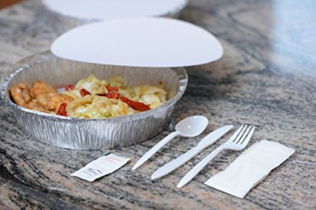 50-Pack-8-Inch-Disposable-Round-Aluminum-Foil-Take-Out-Pans-with-Board-Lids-Set-Disposable-Tin-Containers-Perfect-for-Baking-Cooking-Catering-Parties-Restaurants-by-EcoQuality