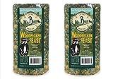 2-Pack of Mr. Bird Woodpecker Feast Small Wild Bird Seed Cylinder 1 lb. 14 oz.