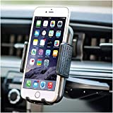 Bestrix Universal CD Phone Mount Cell Phone Holder for Car Compatible with All Smartphones up to 6.5