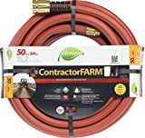 Swan Products ELCF58100 Element ContractorFARM Professional and Agricultural Water Hose 100' x 5/8', Red