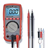 Digital Multimeter WELAISE Auto-Ranging Non Contact Voltage Detection Electronic, AC/DC/Ohm/Volt Meter Multi Tester W/Temperature/Battery Test