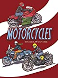 Motorcycles Coloring Book (Dover History Coloring Book)