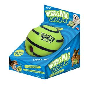 Wobble Wag Giggle Ball, Interactive Dog Toy, Fun Giggle Sounds, As Seen On TV 9