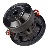 Car Subwoofer by Massive Audio HippoXL122 - SPL Extreme Bass Woofer - 12 Inch Car Audio 4,000 Watt HippoXL Series Competition Subwoofer, Dual 2 Ohm, 3 Inch Voice Coil. Sold Individually