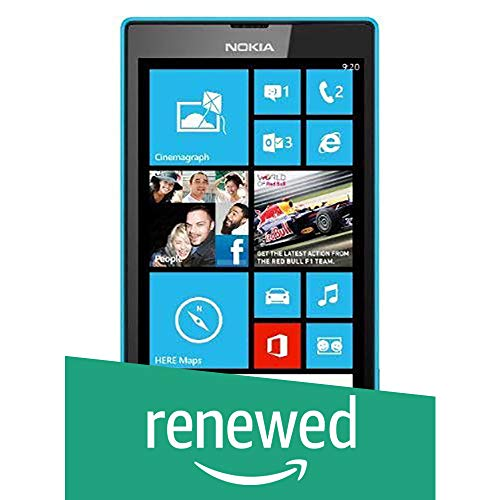 (Renewed) Nokia Lumia 520 (Cyan)