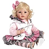 Adora Toddler The Cat's Meow 20' Girl Weighted Doll Gift Set for Children 6+ Huggable Vinyl Cuddly Snuggle Soft Body Toy