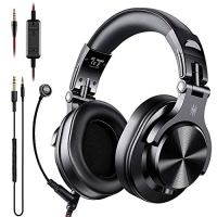 OneOdio A71 PC Headsets with Boom Mic - Office Over Ear Wired Headphones for Business Meeting Skype Call Center Phone…