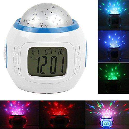 Alarm Clock Children Sleep Clock Color Change Starry Night