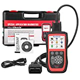 Autel Scanner MaxiCheck Pro for ABS Brake Auto Bleeding OBD2 Scan Diagnostic Tool, with EPB/ABS/SRS/SAS/Airbag/Oil Service Reset/BMS/DPF Service, Software Lifelong Free Update.