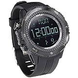 PYLPSWWM82BK - PYLE PSWWM82BK Digital Multifunction Active Sports Watch (Black)