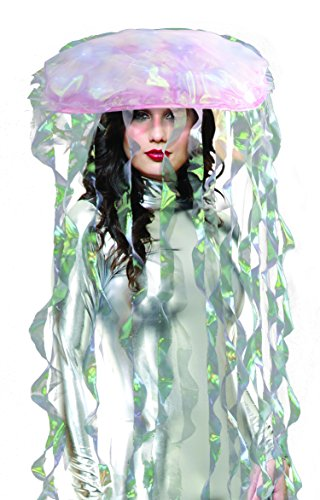 Charades Light Up Jellyfish Costume Headpiece
