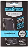 Gadget Guard Black Ice Edition Tempered Glass Screen Guard for iPhone 6/6S/7/8 - Retail Packaging - Clear (package may vary)