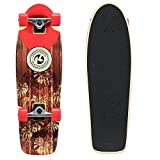 "Kryptonics In-Lay Cruiser 28"" Skateboard, Solid"