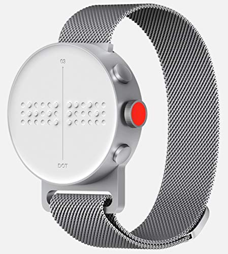 71ZXII2kPIL DIGITAL TIME - Check time in complete privacy EDUCATION - Learn to read from the very basic CHECK CALLS - Find out who is calling you on the Dot Watch
