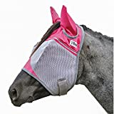 Product review for Cashel Fly mask with Pink Ears, benefits breast cancer