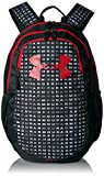 Under Armour Scrimmage Backpack 2.0, Black (002)/Red, One Size Fits All