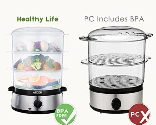 Bpa Free Food Steamer Reviews