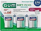 GUM Soft-Picks Original Dental Picks, 270 Count