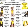 Dexil Limited Adopt ME (I Need A New Home) Yellow Color Coded Non-Pull Front and Back D Ring Padded and Waterproof Vest Dog Harness Prevents Accidents by Warning Others of Your Dog in Advance 4