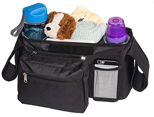 Bubclub's Baby Stroller Organizer – Lightweight & Compact