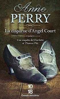 La disparue d'Angel Court Couverture du livre