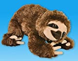 1 X 8 Brown Sloth Bear Plush Stuffed Animal Toy by Toys R Us
