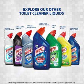 Harpic-Disinfectant-Toilet-Cleaner-Liquid-Original-1-L-Pack-of-2-Kills-999-Germs