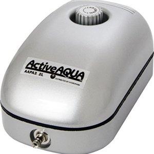 Hydrofarm Active Aqua Air Pump, 1 Outlet, 2W, 3.2 L/min 51fiJiXqf7L