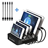 Charging Station - Charging Station for Multiple Devices - USB Charging Station - Docking Station - Charging Dock - Iphone Charging Dock - Ipad Charging station - USB Docking Station