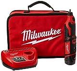 "Milwaukee Electric Tool 2460-21 Thunderbolt Jobber Length Drill, 9/32 x 4-1/4"", Cobalt"