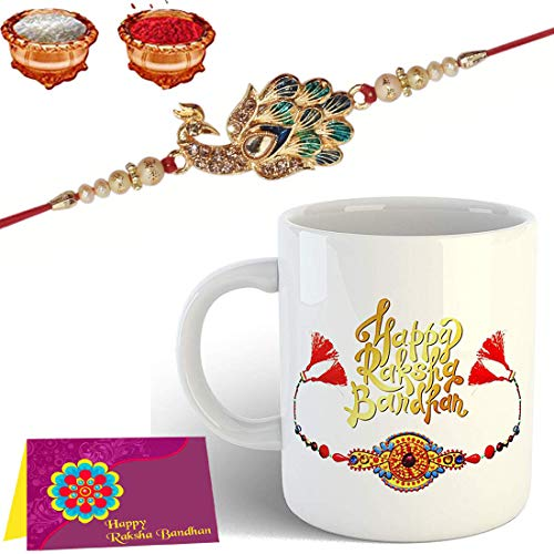 Mug Rakhi Gift for Brother Combo Pack