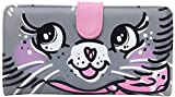 Iron Fist - Womens Very Pussy Cat Wallet Bag, Size: O/S, Color: Grey