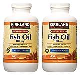 Kirkland Signature hgar Fish Oil Concentrate 2 Pack