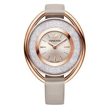 Ladies' Swarovski Crystal Crystalline Oval Rose Gold Tone Watch 5158544