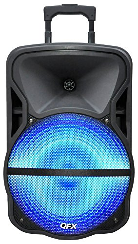 QFX PBX-61151 Battery Powered Bluetooth Speaker