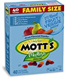 Mott's Medleys Fruit Snacks, Gluten Free, Family Size, 40 Pouches, 0.8 oz