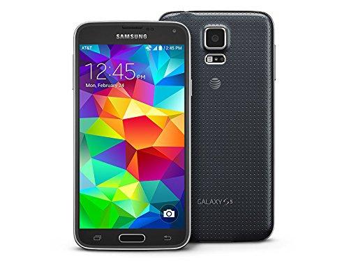 Samsung Galaxy S5 G900A 16GB Factory Unlocked Cellphone, Retail Packaging – Black
