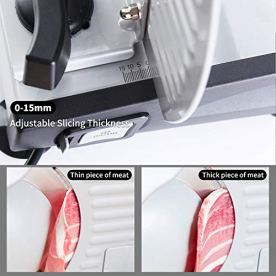 Meat-Slicer-Electric-Deli-Food-Slicer-with-Child-Lock-Protection-Removable-75-Stainless-Steel-Blade-and-Food-Carriage-Adjustable-Thickness-Food-Slicer-Machine-for-Meat-Cheese-Bread150W