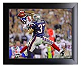 Framed New York Giants David Tyree Makes The Helemt Catch During Super Bowl 42. 8x10 Photo Picture.