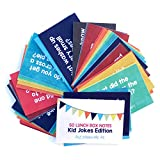 Designer Lunchbox Notes Jokes Edition - 50 Humorous Cards (2X3 Inch)