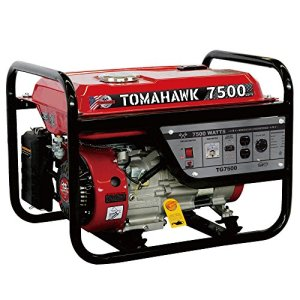 Tomahawk Power 7500 Starting Watts, Gas Powered Portable Generator EPA Compliant