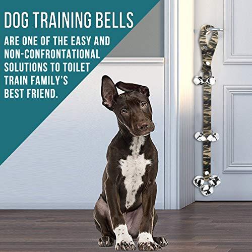 2 Pack Dog Doorbells Premium Quality Training Potty Great Dog Bells Adjustable Door Bell Dog Bells for Potty Training Your Puppy The Easy Way - Premium Quality - 7 Extra Large Loud 1.4 DoorBells 3