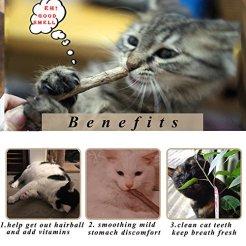 Bojafa-Catnip-Sticks-40-PCS-Organic-Cat-Catnip-Toys-Natural-Plant-Matatabi-Silver-Vine-Chew-Sticks-Cat-Teeth-Cleaning-Chew-Toy-for-Cat-Kitten-Kitty-6-OZ-About-40-PCS