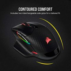 Corsair-Dark-Core-RGB-Pro-SE-Wireless-FPSMOBA-Gaming-Mouse-with-Slipstream-Technology-Black-Backlit-RGB-LED-18000-DPI-Optical-Qi-Wireless-Charging-Certified