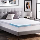 Product review for LUCID 2.5 Inch Gel Infused Ventilated Memory Foam Mattress Topper with Removable Tencel Blend Cover 3-Year Warranty - Queen Size