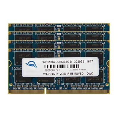 OWC-4GB-1-x-4GB-1867-MHZ-DDR3-SO-DIMM-PC3-14900-204-Pin-CL11-Memory-Upgrade-OWC1867DDR3S4GB