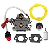 AISEN Carburetor Fuel Line for C1M-W44 545189502 545008042 Poulan PP133 PP333 Pro Gas Craftsman Trimmer 33cc Carb