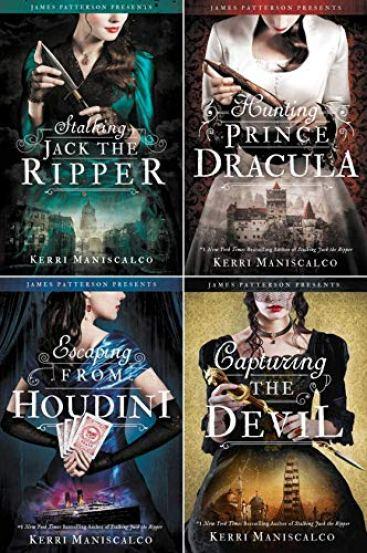 Stalking Jack the Ripper Series, 4-Book Set: Kerri Maniscalco: Amazon.com:  Books