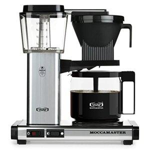 Technivorm Moccamaster 59616 KBG, 10-Cup Coffee Maker, 40 oz, Polished Silver 7